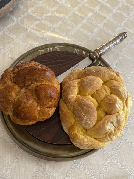 Chaya's Pumpkin Challah Recipe (2 versions)